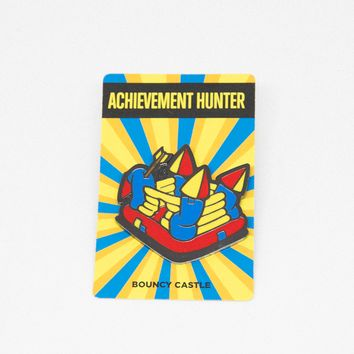 AH Bouncy Castle Enamel Pin