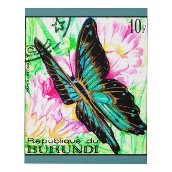Butterfly Papilio Bromius Panel Wall Art