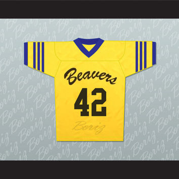Scott Howard 42 Beacon Hills Beavers Lacrosse Jersey Throwback Teen Wolf
