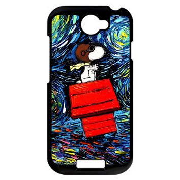 Snoopy Art Peanuts HTC One S Case