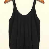 Sexy Ladies Blouse Top/Womens Sleeveless Blouse Top