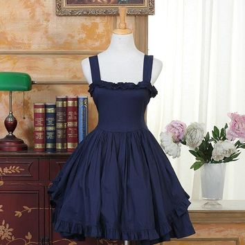 Sexy JSk Princess Lolita Dresses Vintage Women Dress Lolita Party Clothing  Costumes