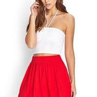 Soft Knit Skater Skirt