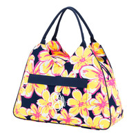 Personalized Beach Floral Beach Bag Initial, Monogram or Plain.