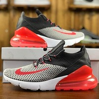Nike Air Max 270 Flyknit AO1023-202 Sport Running Shoes