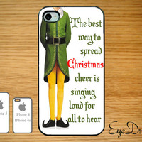 Iphone 5, 4s, and 4 Elf Christmas Case