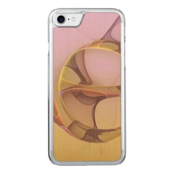 Abstract Motions Modern Fractal Art Carved iPhone 7 Case