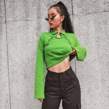 Poison Ivy Pullover