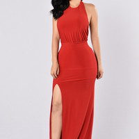 Heads Up Dress - Red