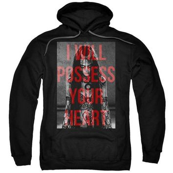ac spbest Suicide Squad - Which Witch Adult Pull Over Hoodie