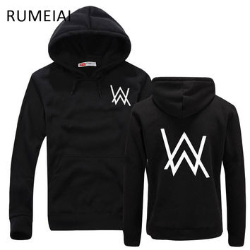 RUMEIAI Fashion Men Sweatshirts Music DJ Divine Comedy Alan Walker Faded Coat Hoodies Sweatshirts Men Pullovers Brand clothing