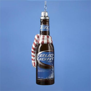Christmas Ornament - Bud Light Beer Bottle