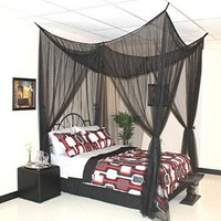Freedon Bed Canopy Color Black
