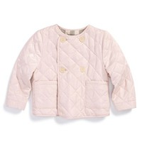 Infant Girl's Burberry Quilted Jacket