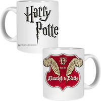 Harry Potter Flourish & Blotts Mug: WBshop.com - The Official Online Store of Warner Bros. Studios
