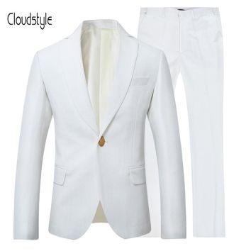 Cloudstyle 2018 Fashion Male Suit Jackets Men Formal Business Single Button Blazersr Casual Wedding Dress Groom Classic Business