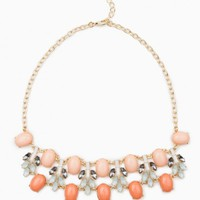 IVETTE NECKLACE IN PINK