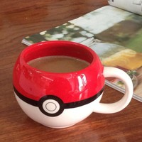 Cartoon  Porcelain Cup   Monster Mug Gift 250MLKawaii Pokemon go  AT_89_9