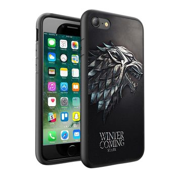 Game of Thrones Printed Hard Case Cover + Glass for Various Mobile Phones - 018
