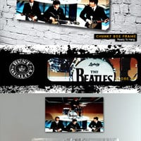 THE BEATLES A HARD DAYS NIGHT Canvas