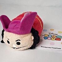 "New Disney Store Mini 3.5"" (S) Tsum Tsum CAPTAIN HOOK (Peter Pan Collection)"