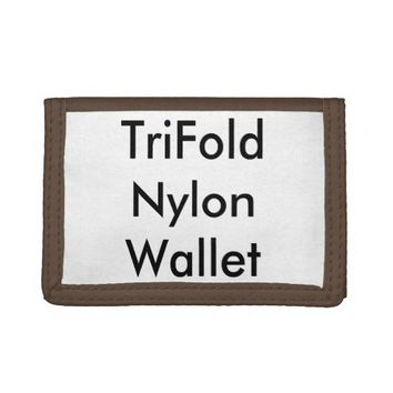 Personalized TriFold Nylon Wallet
