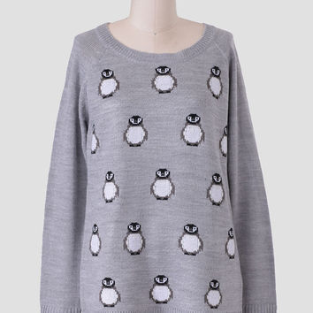 Rhea Penguin Sweater By Jack By BB Dakota