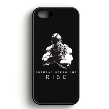 Bane The Reckoning Art iPhone 4s iPhone 5s iPhone 5c iPhone SE iPhone 6|6s iPhone 6|6s Plus Case