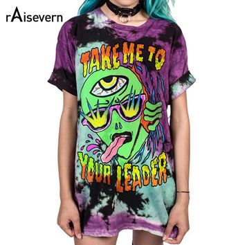 Take Me To Your Leader Long Tee