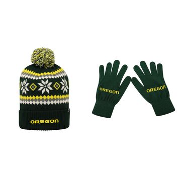 Licensed NCAA  Fogbow Beanie Hat And TOW Knit Glove 2 Pack 37037 KO_19_1