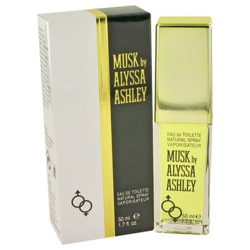 Alyssa Ashley Musk By Houbigant Eau De Toilette Spray 1.7 Oz