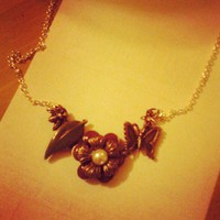 Floral Necklace from Wild Ivy