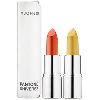 SEPHORA+PANTONE UNIVERSE Ombre Dual Lipstick Fire and Earth (0.11 oz