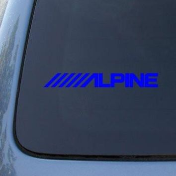 ALPINE  Logo Vinyl Sticker Decal Car Truck Windon Wall Laptop notebook