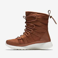 The Nike Roshe One Hi Suede Women's SneakerBoot.