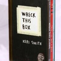 Wreck This Box: Wrek This Journal, This Is Not a Book, Messy (Paperback)