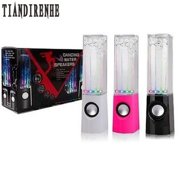 Tiandirenhe Dancing Water Speaker Active Portable Mini USB LED L 1ecb34f2c
