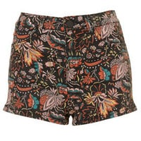 MOTO Floral Paisley Hotpants - Shorts  - Clothing