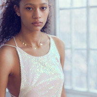 Motel Gigi Strappy Sequin Mini Dress | Urban Outfitters