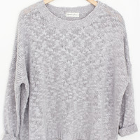 Sky Knit Sweater