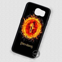 Single Eye Lord Of The Rings - Samsung Galaxy S7 S6 S5 Note 4 Cases & Covers