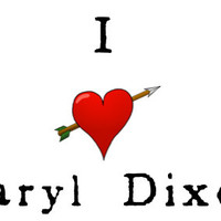 The Walking Dead - I Love Daryl Dixon - Temporary Tattoo