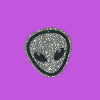 Glittering Alien Patch