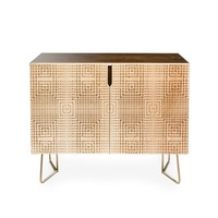 Credenza by Holli Zollinger DECO GOLD