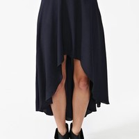 Braided Tail Skirt - Navy