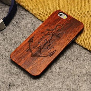 Natural Wood Phone Case For iPhone 5 5S 6 6S 6Plus 7 7Plus