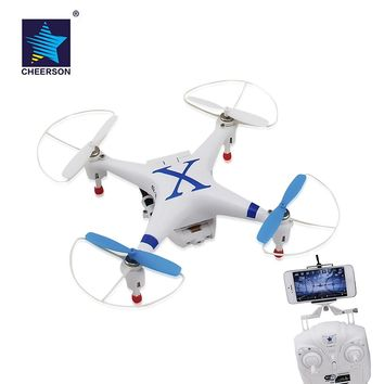 Original Cheerson CX 30W RC Drones WiFi FPV Real Time Transmission RC Quadcopter drone with Camera HD 0.3MP HD VS SYMA X5SW
