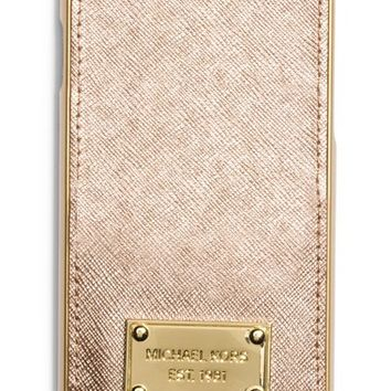 MICHAEL Michael Kors Metallic Leather iPhone 6 Case