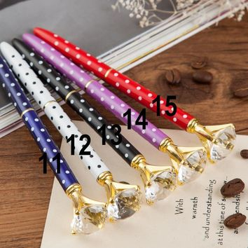 19 Carat Diamond Novelty Ballpoint Ink Pen