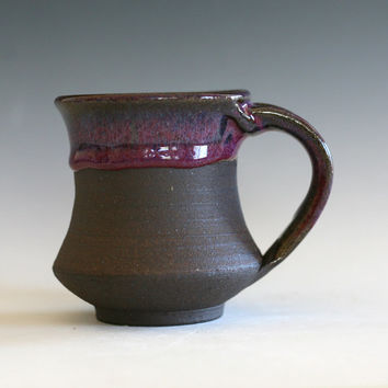 SMALL pottery Coffee Mug, 8 oz, handmade ceramic cup, handthrown mug, ceramic stoneware pottery mug unique coffee mug ceramics and pottery